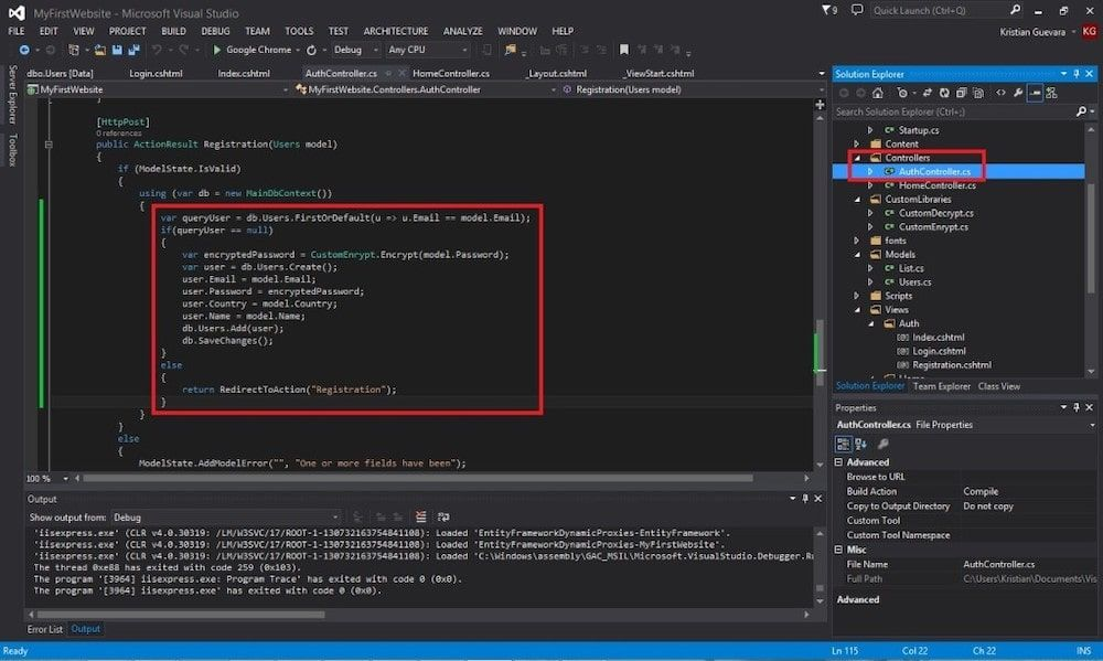 Creating your ASP.NET MVC 5 Application from SCRATCH for Beginners: Using Entity Framework 6 and Identity with CRUD Functionalities